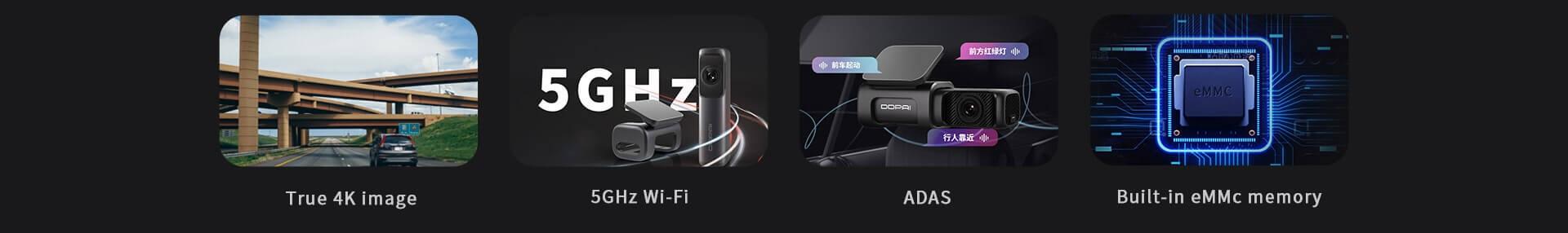 DDPAI Mini 5 kamera do auta