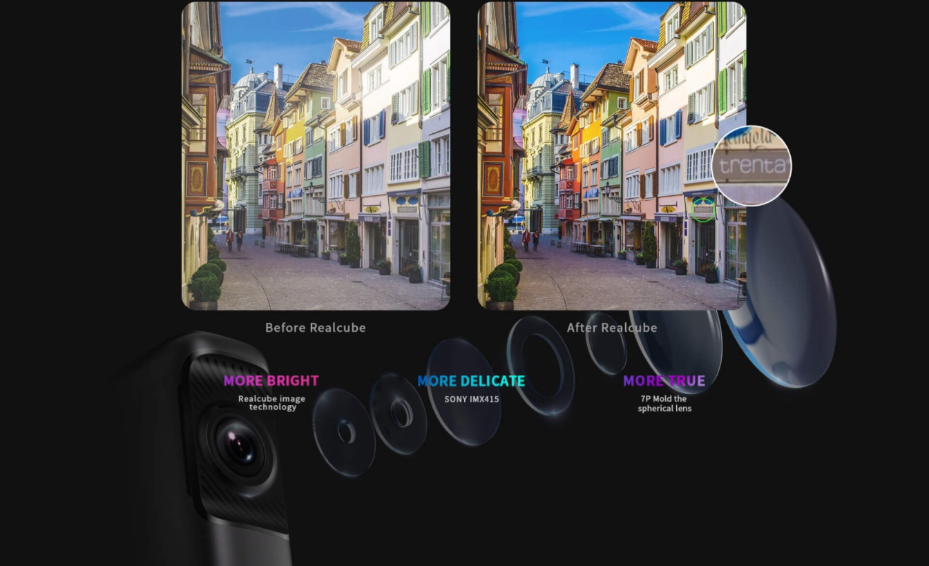 Kvalitný záznam DDPAI Mini 5 autokamery