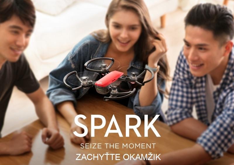 DJI, SPARK, dron, mini dron, inteligentný,