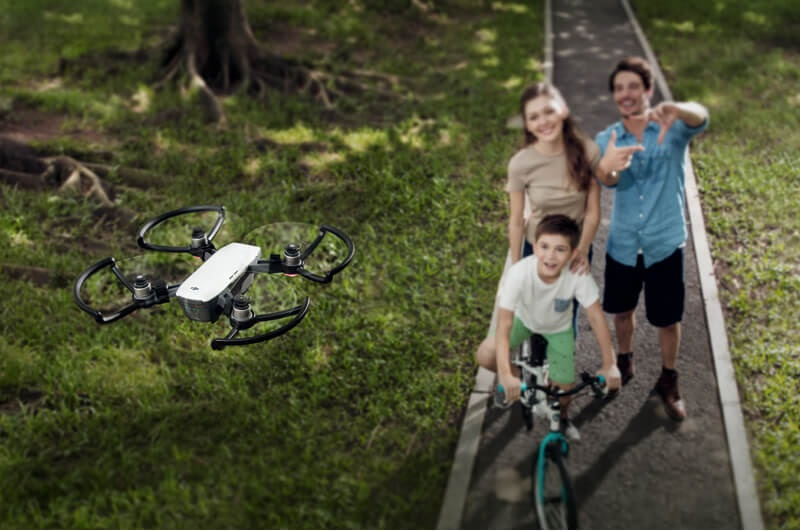 DJI, SPARK, mini dron, inteligentný dron,